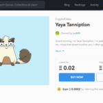 crypto collectible for sale on opensea